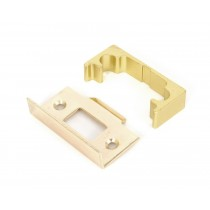 Polished Brass '' Rebate Kit for Tubular Mortice Latch