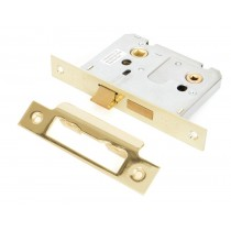 Brass 3'' Bathroom Mortice Lock