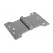 "4''x4"" Ball Bearing Parliament Hinge SS (pair) - Pewter"