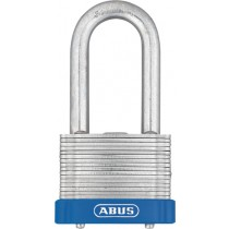 Laminated Padlock. Size: Wide 44 mm x Height 87 mm x Depth 26 mm