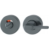 Escutcheon. Door Thickness: 44 mm.  Finish: F7016 Anthracite Grey.  Keyhole: Disable Emergency Release With Red-white Indicator/turn