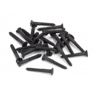 """Black 8 x 1¼"""" Countersunk Screw (25)"""
