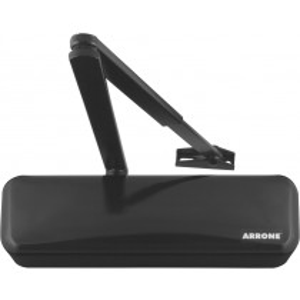 Arrone ® Plus AR3500. Cover Finish: Ral 9017 Traffic Black.  Shape: Designer. Power size: EN 2-4