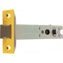 Mortice Latch. Backset: 82 mm, Pierced For Furniture At 38  mm Centres.  Case Size: Depth: 102 mm Length: 60 mm Width: 15 mm