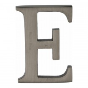 """Heritage Brass Alphabet E Pin Fix 51mm (2"""") Matt Bronze Finish"""