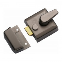 M.Marcus York 40mm Std. Nightlatch Matt Bronze Finish