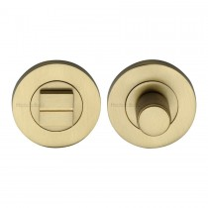 Heritage Brass Thumbturn & Emergency Release Satin Brass finish. 53mm max dia