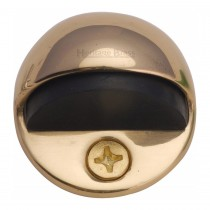 Heritage Brass Shielded Door Stop Polished Brass finish 28mm projection.