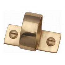 Heritage Brass Sash Ring Polished Brass finish. mm long