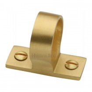 Heritage Brass Sash Ring Satin Brass finish. mm long