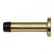 Heritage Brass Projection Door Stop. Satin Brass finish 76mm projection.
