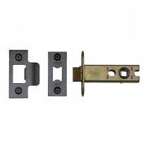 "M.Marcus York Architectural Tubular Latch 3"" Black Enamel Finish"