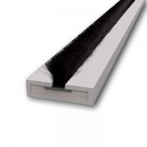 Pyroplex Intumescent Brush in Grey. 2100 mm x 10 mm x 4 mm