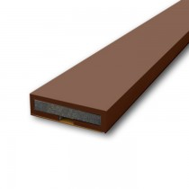Pyroplex Intumescent Seal in Brown. 1050 mm x 15 mm x 4 mm