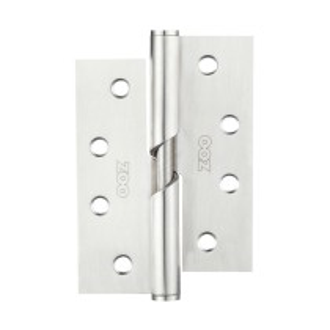 Rising Butt Hinge (Left) Stainless Steel - Grade 201 - 102 x 76 x 2.5mm - Stainless Steel Effect
